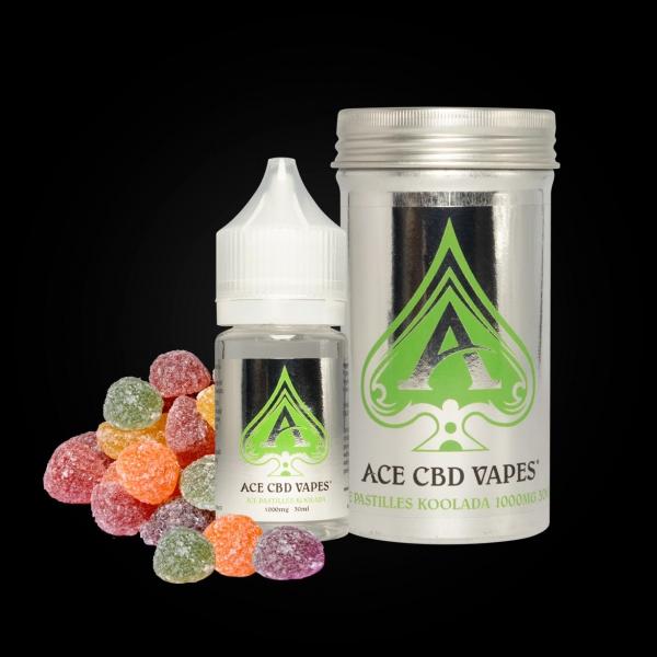 Ace CBD Vapes Ice Pastilles Kollada 30ml