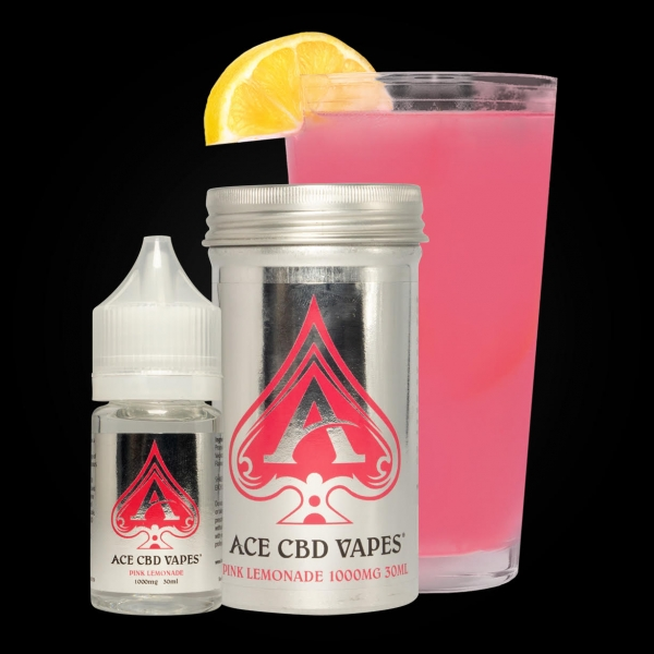 Ace CBD Vapes Pink Lemonade 30ml