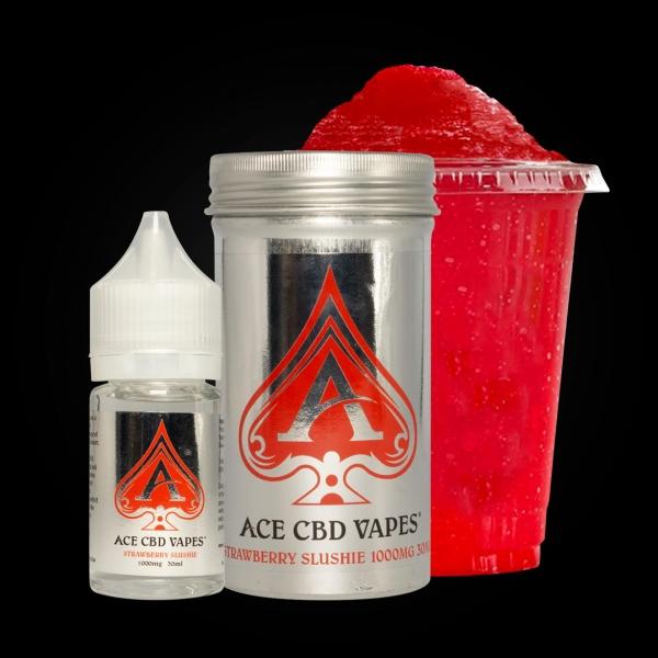 Ace CBD Vapes Strawberry Slushie 30ml