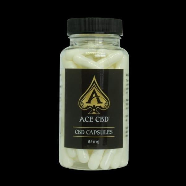 Ace CBD Capsules 25mg
